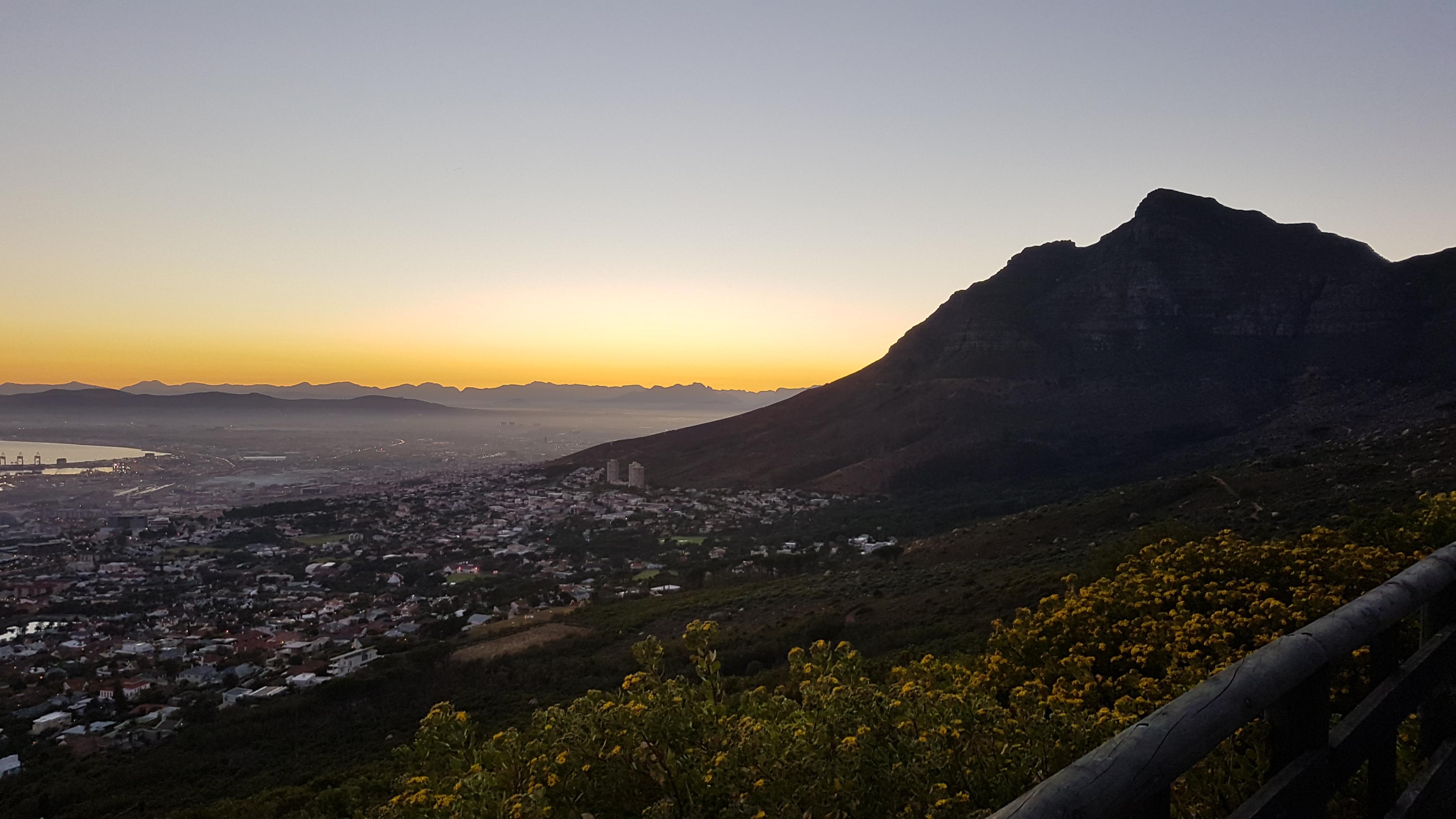 Kapstaden soluppgång